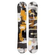 Gnu Carbon Credit BTX Wide Snowboard, 153cm Wide, medium