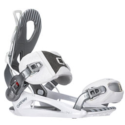 Gnu Gateway Snowboard Bindings, White, 256