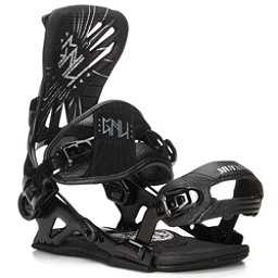 Gnu Mutant Snowboard Bindings, Black, 256