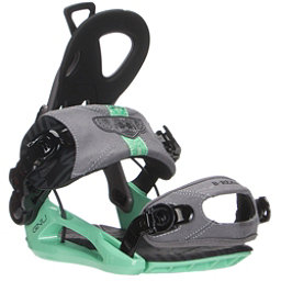 Gnu B-Real Womens Snowboard Bindings, Grey, 256