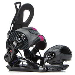 Gnu B-Real Womens Snowboard Bindings, Black, 256