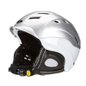 CP HELMETS Ebrolito Helmet, Silver-White Shy, medium