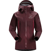 Arc'teryx Beta LT Womens Shell Ski Jacket, Cherrywine, medium