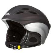 CP HELMETS Cumbaya Helmet, Prune Black Silver, medium