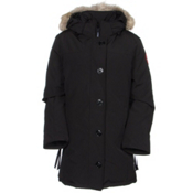 Canada Goose Dawson Parka Womens Jacket, Black, medium