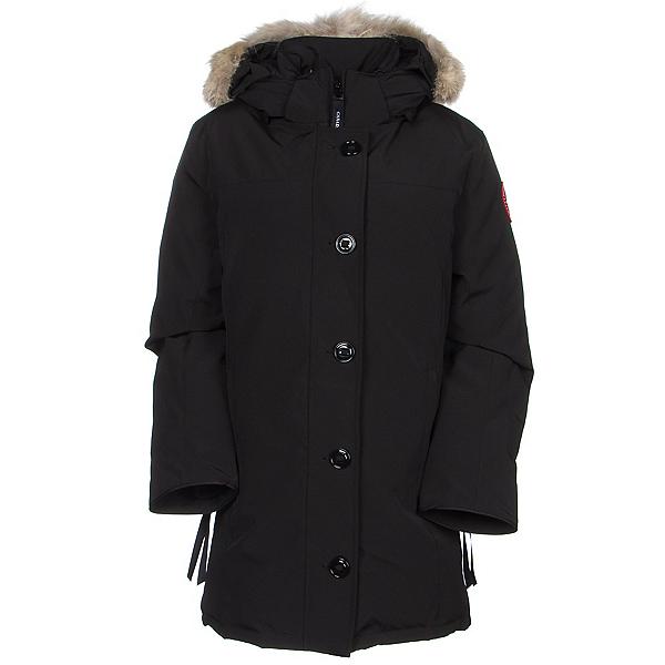 Canada Goose Dawson Parka Womens Jacket, Black, 600