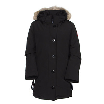 Canada Goose Dawson Parka Womens Jacket, Black, viewer