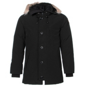 Canada Goose Chateau Parka Mens Jacket, Black, medium