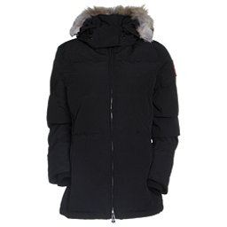 Canada Goose Chelsea Parka Womens Jacket, Black, 256