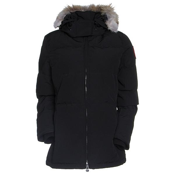 Canada Goose Chelsea Parka Womens Jacket, Black, 600