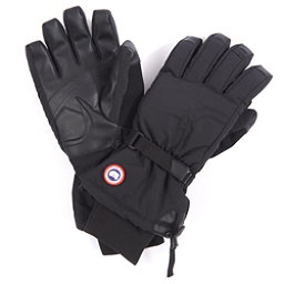 Canada Goose Arctic Down Mens Gloves, Black, 256