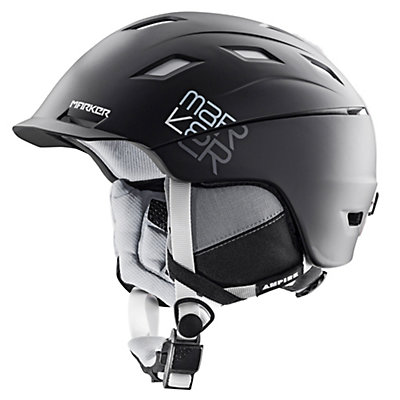 Marker Ampire Helmet, 2 Block All Black, viewer