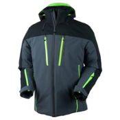 Obermeyer Fast Mens Insulated Ski Jacket, Ebony, medium