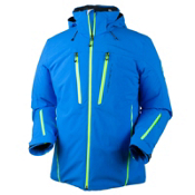 Obermeyer Fast Mens Insulated Ski Jacket, Sonic Blue, medium