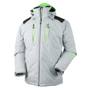Obermeyer Foundation Mens Insulated Ski Jacket, Phantom, medium