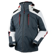 Obermeyer Foundation Tall Mens Insulated Ski Jacket, Ebony, medium