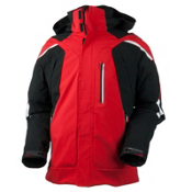 Obermeyer Ranger Mens Insulated Ski Jacket, True Red, medium