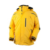 Obermeyer Ranger Mens Insulated Ski Jacket, Maize, medium