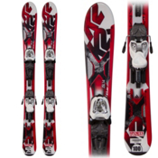 K2 Indy JSL Kids Skis with Marker Fastrak 4.5 Bindings, , medium