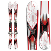 K2 Strike Jr. Kids Skis with Marker 4.5 Fastrak Bindings, , medium