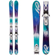 K2 SuperInspire Womens Skis with Marker ERP 10.0 Bindings, , medium