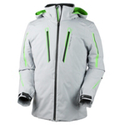 Obermeyer Charger Tall Mens Insulated Ski Jacket, Phantom, medium