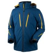 Obermeyer Charger Tall Mens Insulated Ski Jacket, Eclipse, medium