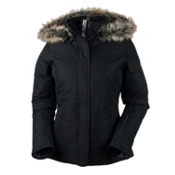 Obermeyer Tuscany Womens Insulated Ski Jacket, Black, medium