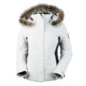 Obermeyer Tuscany Womens Insulated Ski Jacket, White, medium