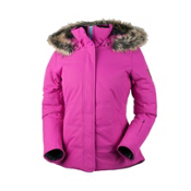 Obermeyer Tuscany Womens Insulated Ski Jacket, Vivacious Pink, medium