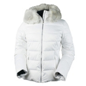 Obermeyer Bombshell Womens Insulated Ski Jacket, White, medium