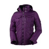 Obermeyer Leighton Womens Insulated Ski Jacket, Sangria, medium