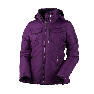 Obermeyer Leighton Womens Insulated Ski Jacket, Sangria, viewer