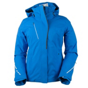 Obermeyer Zermatt Womens Insulated Ski Jacket, Sonic Blue, medium