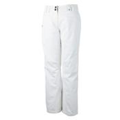 Obermeyer Malta Womens Ski Pants, White, medium