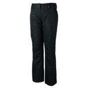 Obermeyer Malta Womens Ski Pants, Black, medium
