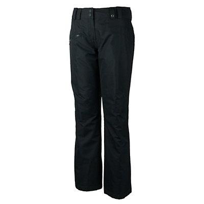 Obermeyer Malta Womens Ski Pants, Black, viewer