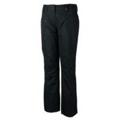 Obermeyer Malta Short Womens Ski Pants, Black, medium