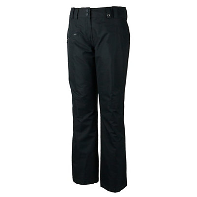 Obermeyer Malta Long Womens Ski Pants, Black, viewer