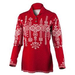 Obermeyer Cabin Knit Pullover Womens Sweater, Garnet, 256