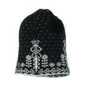 Obermeyer Elise Knit Womens Hat, Black, medium