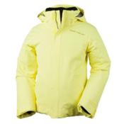 Obermeyer Sara Girls Ski Jacket, Daffodil, medium