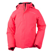 Obermeyer Sara Girls Ski Jacket, Day Glow Pink, medium
