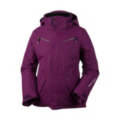 Obermeyer Berkley Girls Ski Jacket, Currant, medium