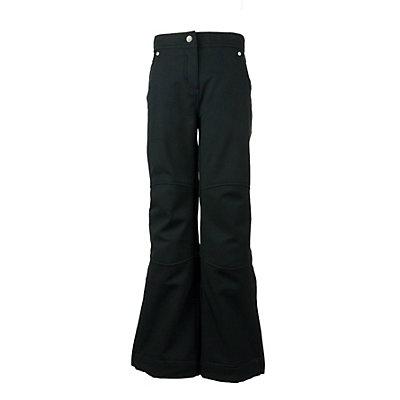 Obermeyer Jolie Softshell Teen Girls Ski Pants, Black, viewer
