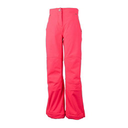 Obermeyer Jolie Softshell Teen Girls Ski Pants, Day Glow Pink, 256