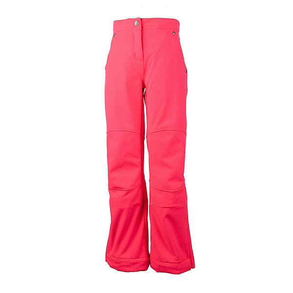 Obermeyer Jolie Softshell Teen Girls Ski Pants, Day Glow Pink, 600