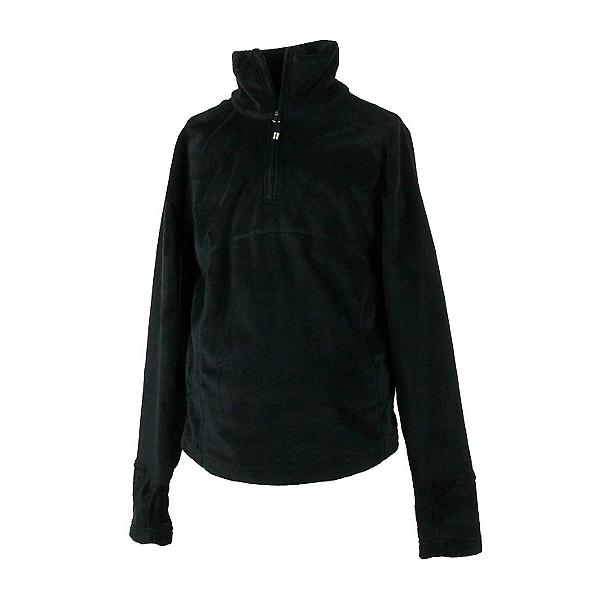 Obermeyer Furry Fleece Top Teen Girls Midlayer, Black, 600