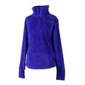 Obermeyer Furry Fleece Top Kids Midlayer, Purple Reign, medium