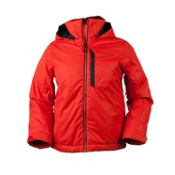 Obermeyer Ridge Boys Ski Jacket, Lava, medium